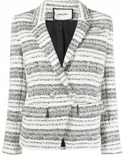Пиджак твидовый - белый Max & Moi