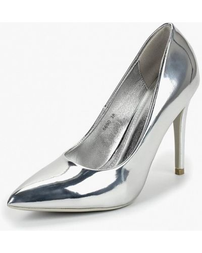Кожаные туфли осенние на каблуке Style Shoes