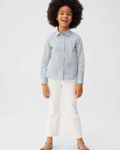 Блуза синий Mango Kids