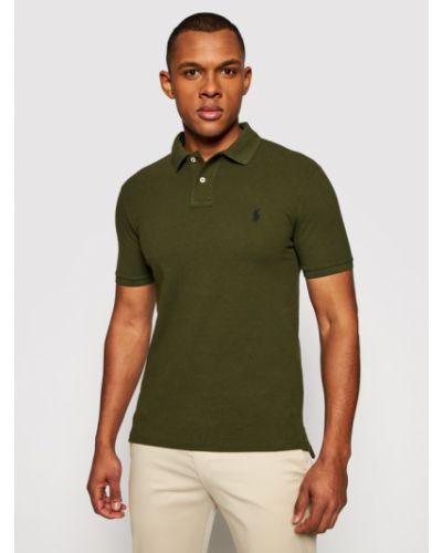 Koszulka - zielona Polo Ralph Lauren