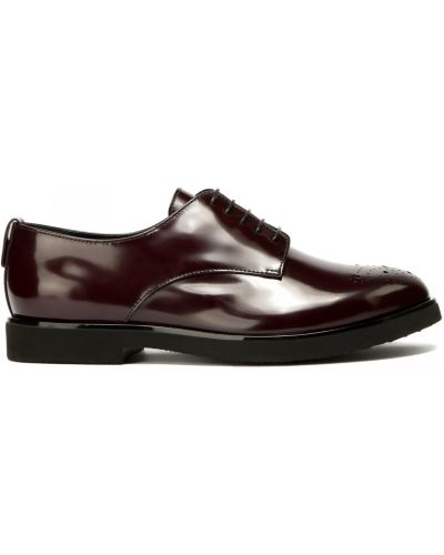 Кожаные красные туфли закрытые Agl