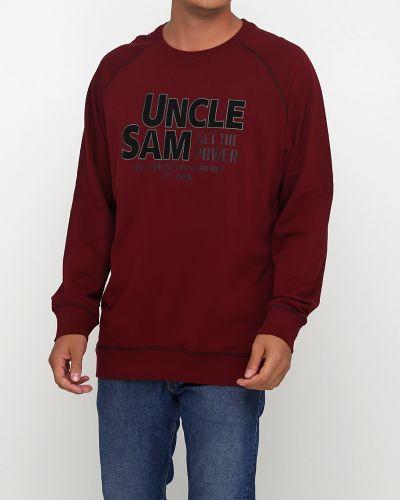 Толстовка - бордовая Uncle Sam