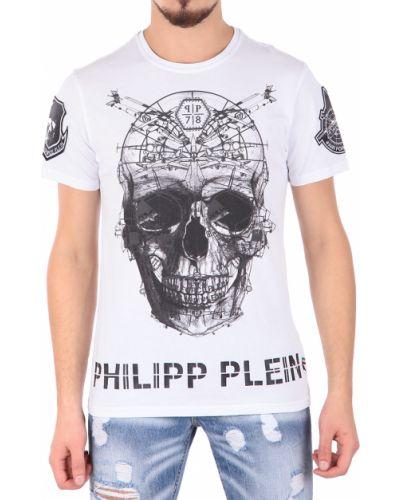 Белая футболка Philipp Plein
