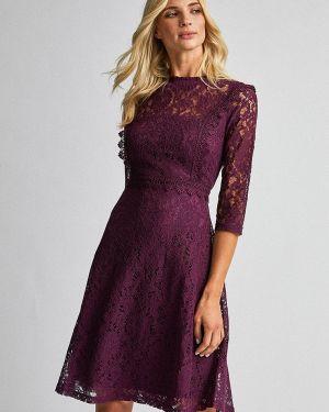 Вечернее платье бордовый красный Dorothy Perkins
