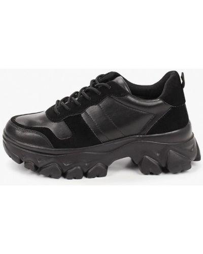 Кожаные кроссовки - черные Diora.rim