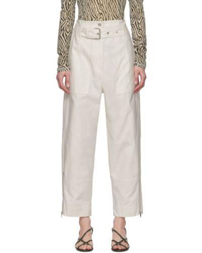 Укороченные брюки карго с поясом 3.1 Phillip Lim