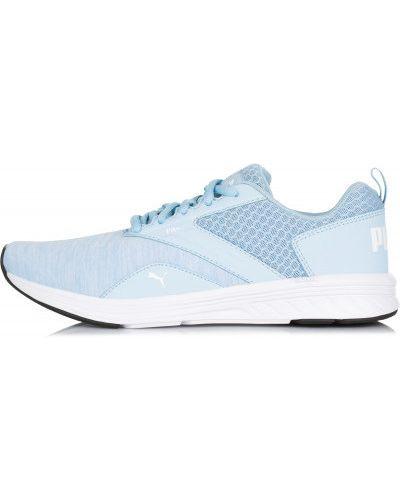 Голубые кроссовки для бега Puma