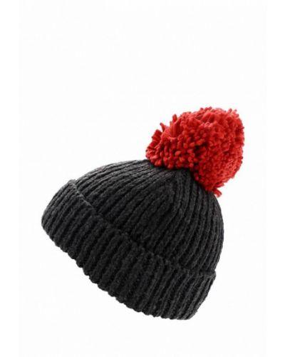 Серая шапка с помпоном Topshop