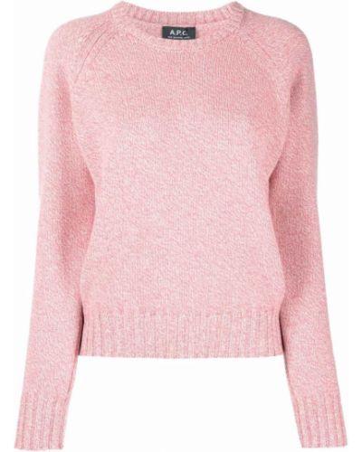 Розовые брюки длинные A.p.c.
