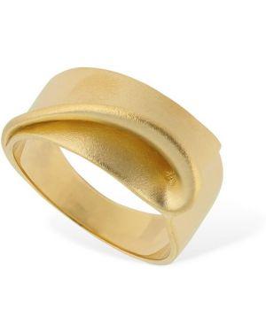 Złoty pierścionek Trine Tuxen