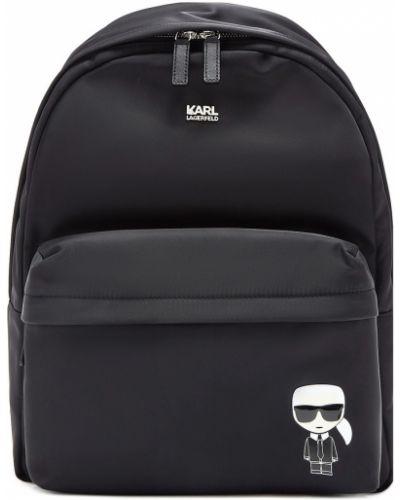 Рюкзак черный маленький Karl Lagerfeld