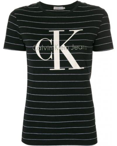 футболка в полоску Calvin Klein Jeans
