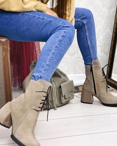 Кожаные ботинки Amnesia