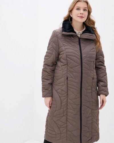 Зимняя куртка осенняя утепленная Ulla Popken
