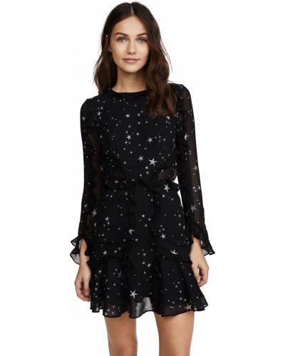 Открытое платье мини с длинными рукавами с открытой спиной Fame And Partners