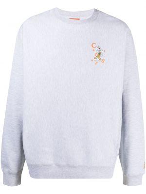 Bluza z długimi rękawami bawełniana z printem Carrots