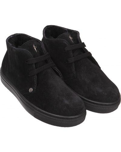 Черные ботинки Cesare Paciotti