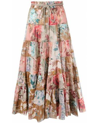 Różowa spódnica Zimmermann