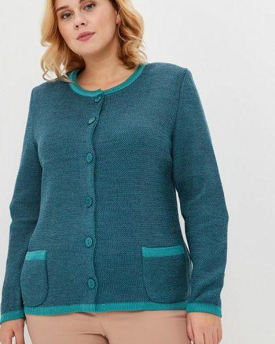 Зеленый кардиган Milana Style