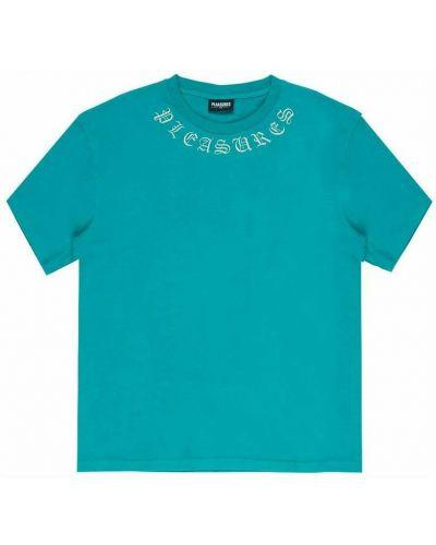 Niebieska koszula Pleasures