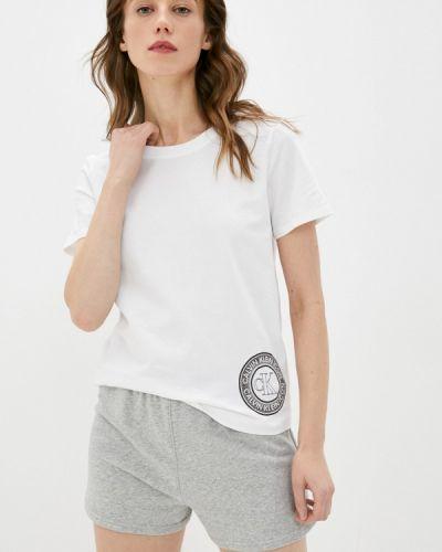 Домашняя белая футболка Calvin Klein Underwear