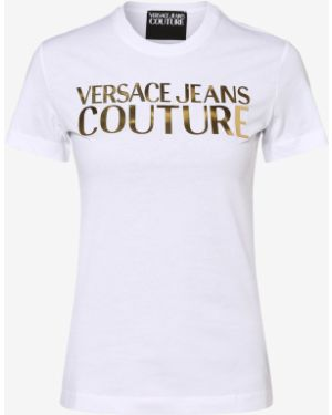 T-shirt - białe Versace Jeans