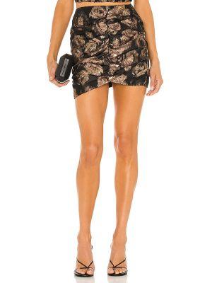 Асимметричная юбка - черная Misa Los Angeles