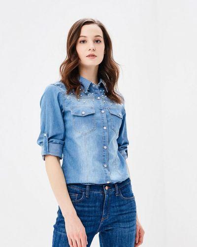 Голубая джинсовая рубашка Softy