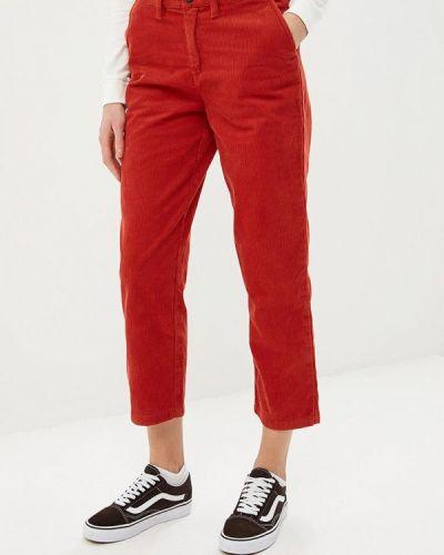 Красные брюки Vans