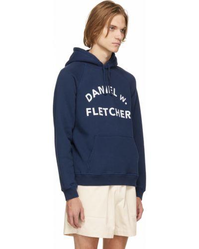 Biała bluza bawełniana Daniel W. Fletcher