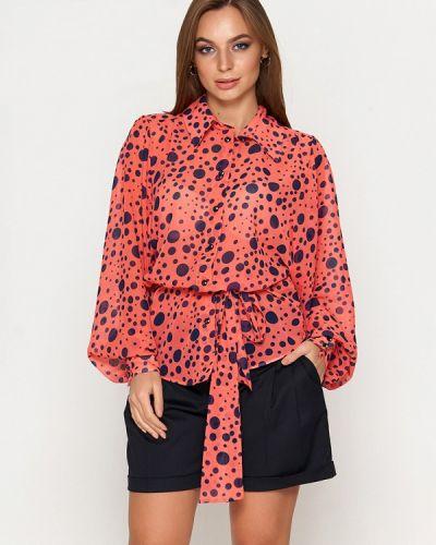 Блузка красная Sellin