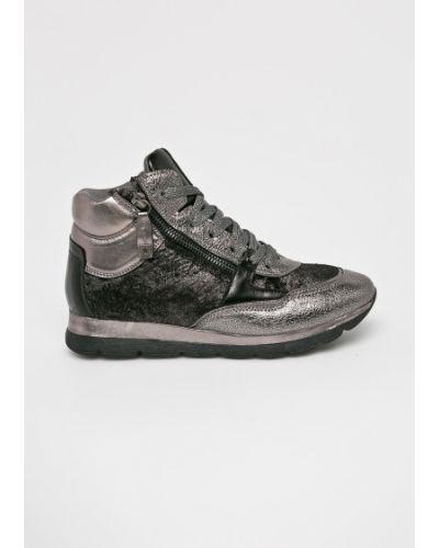Кроссовки на платформе на шнуровке текстильные Big Star
