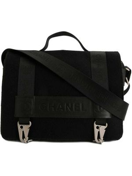 Skórzana torebka walizka sport Chanel Pre-owned