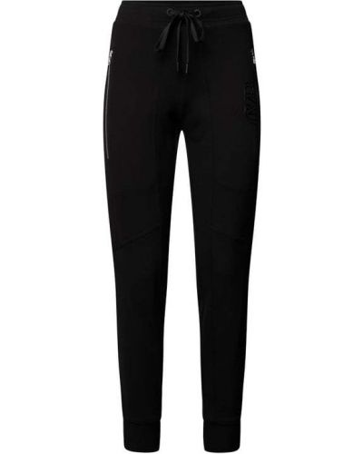 Czarne spodnie sportowe Cambio