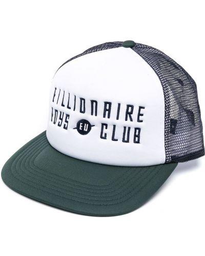 Biały baseball czapka baseballowa z haftem Billionaire Boys Club
