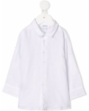 Biała koszula z długimi rękawami Aletta