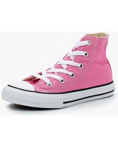 Кеды розовый демисезонный Converse