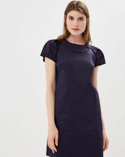 Синее платье весеннее Incity