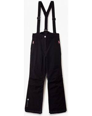 Теплые черные брюки Luhta