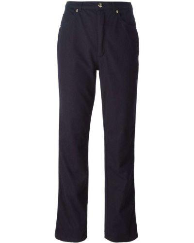 Расклешенные джинсы винтажные синие Escada Pre-owned
