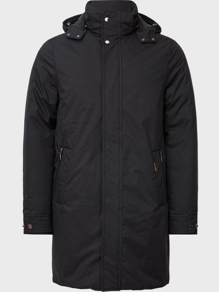 Куртка на молнии - черная Moorer