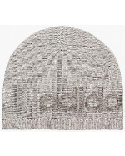 Шапка - серая Adidas