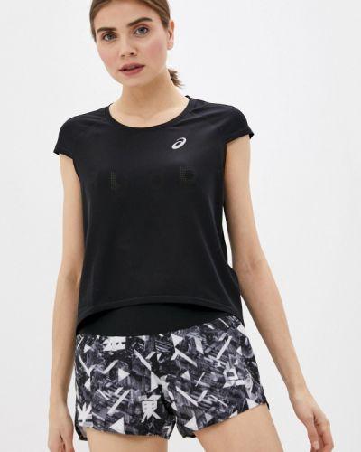 Черная спортивная футболка Asics