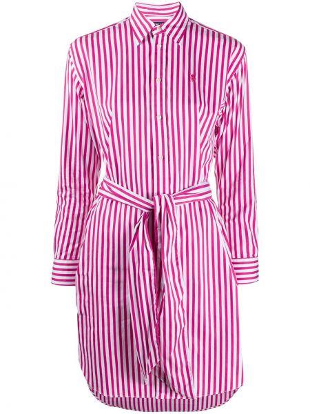 Платье макси платье-рубашка в полоску Polo Ralph Lauren