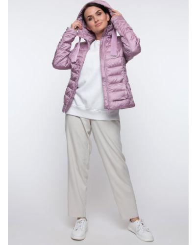 Куртка с капюшоном - фиолетовая Snowimage