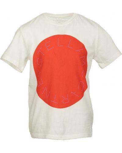 Beżowa t-shirt Stella Mccartney