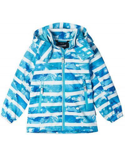 Свободная синяя куртка на молнии Reima