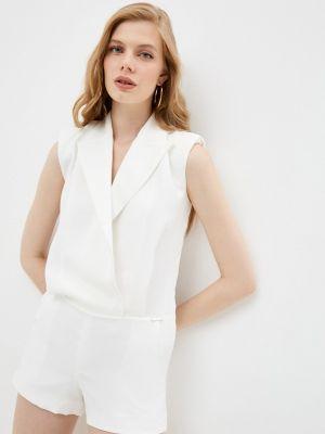 Белый комбинезон с шортами John Richmond