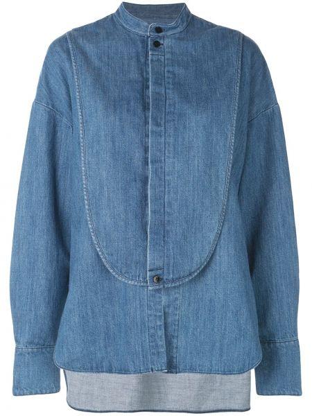 Koszula jeansowa - niebieska Tibi
