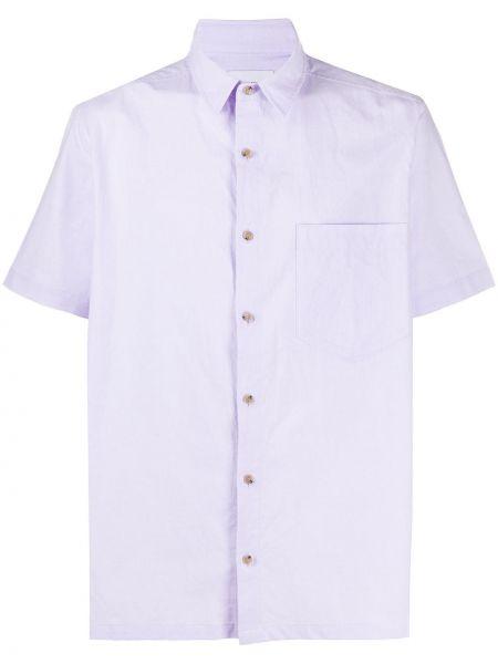 Koszula krótkie z krótkim rękawem klasyczna fioletowy Nanushka